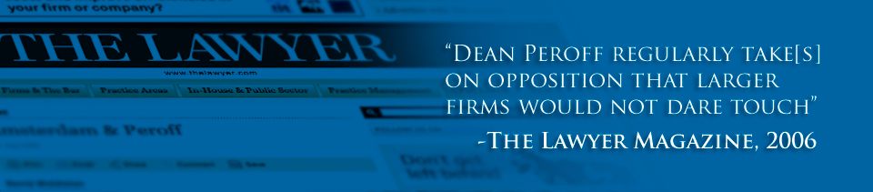 Dean Peroff Strategic Counsel and International Business Law